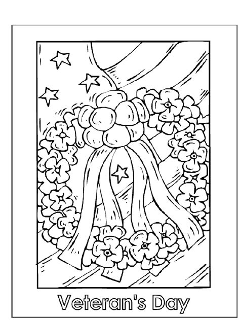 preschool coloring pages for memorial day coloring page homeschooling holidays veterans day
