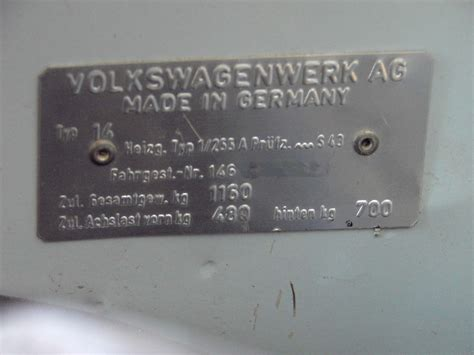 1967 vw vin number location 1967 free engine image for