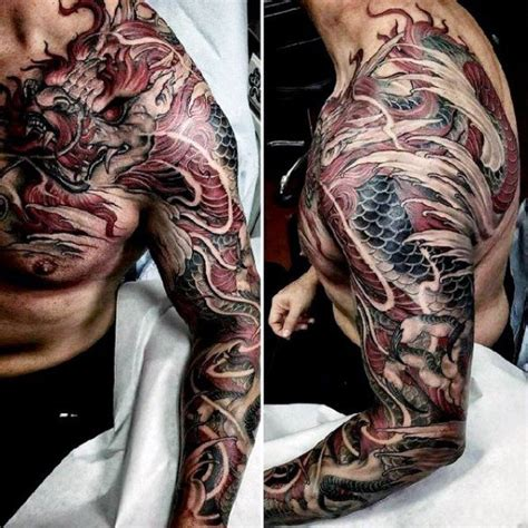 chinese dragon tattoo designs for men 40 shoulder designs for manly ink ideas