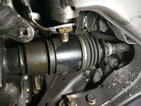 cv boots leak  front differential leak ihmud forum