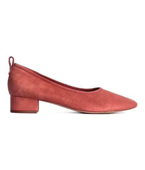 shoes h m h m low court shoes in lyst