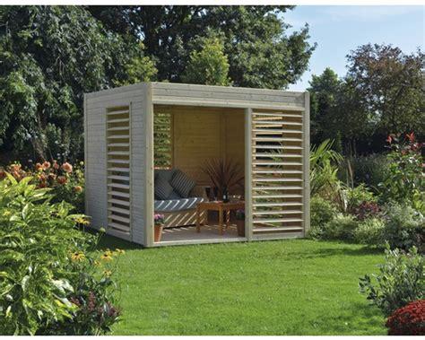 pavillon viereckig pavillon konsta modern 264 x 256 cm natur bei