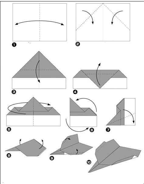 Origami Avion - avion de chasse facile origami origami and
