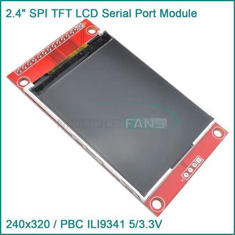 Lcd 2 4 Tft 240x320 2 4 240 215 320 spi tft lcd serial port module 5v 3 3v pbc