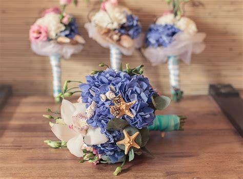 Diy Home Decor Project Ideas 20 Beach Wedding Bouquet Ideas Seashells And Flowers