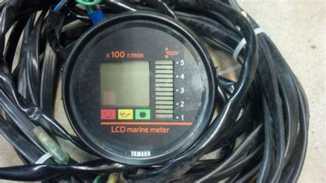 yamaha boat gauges for sale buy yamaha outboard tachometer trim oil lcd