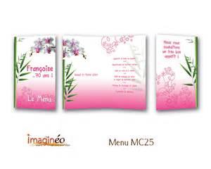 Beau Menu D Anniversaire Simple #1: menu-MC25.jpg