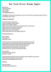 Truck Driver Resume Objective Statement Simple But Serious Mistake In Making Cdl Driver Resume