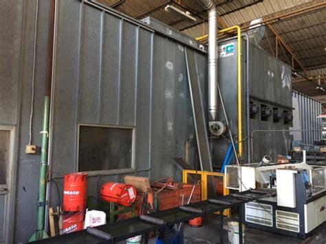 cabine per verniciatura usate impianto per verniciatura a liquido usato vicenza