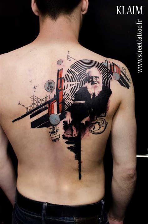 creative tattoo ideas 9 creative designs mixed with painting digital