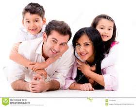 Beautiful Family by Beautiful Family Portrait Royalty Free Stock Photos
