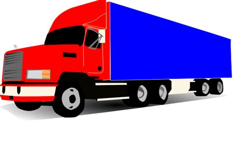 truck  wheeler trucker clip art  clkercom vector clip art  royalty  public