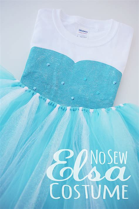 Handmade Elsa Costume - cb flowers and crafts simple elsa costumes for frozen