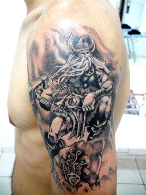 norse tattoo 37 viking shoulder tattoos