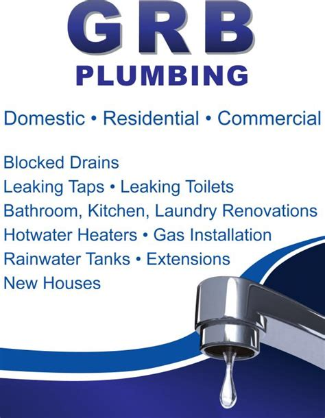 Plumbing Penrith by G R B Plumbing Penrith Blacktown St Marys Mt Druitt And Blue Mountains Gary
