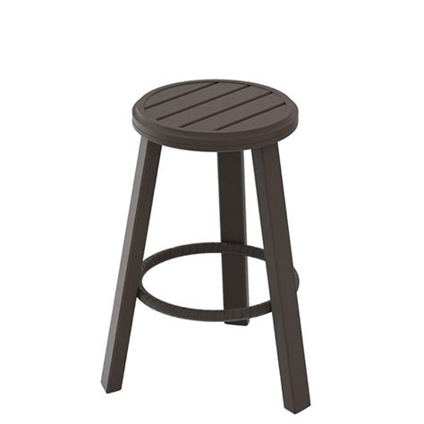 Outdoor Patio Stools Banchetto 28 Quot Backless Stationary Bar Stool Tropitone