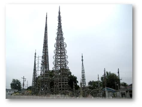 ncptt simon rodia s towers in watts the watts towers
