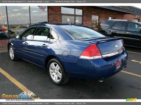 2006 blue chevy impala 2006 chevrolet impala ltz laser blue metallic gray photo