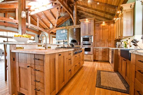 craftsman style kitchens shaker oak neo craftsman in a country home craftsman kitchen