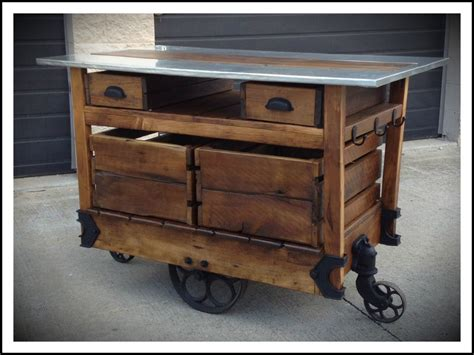 wood classic kitchen islands cart industrial love