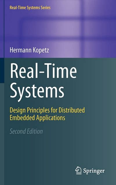 distributed system design books real time systems design principles for distributed