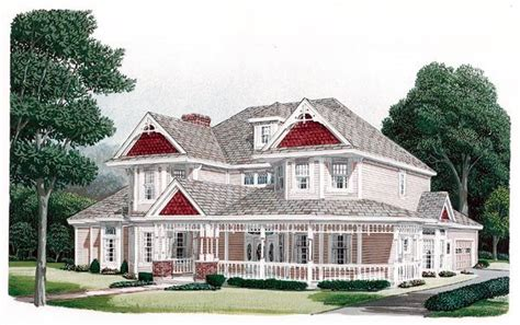 country victorian house plans country farmhouse victorian house plan 95593