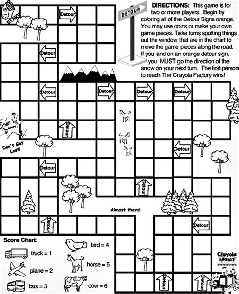 community map coloring page travel detour crayola co uk