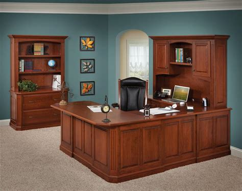U Shaped Office Desk With Hutch Popular U Shaped Desk With Hutch U Shaped Desk With Hutch Style All Office Desk Design