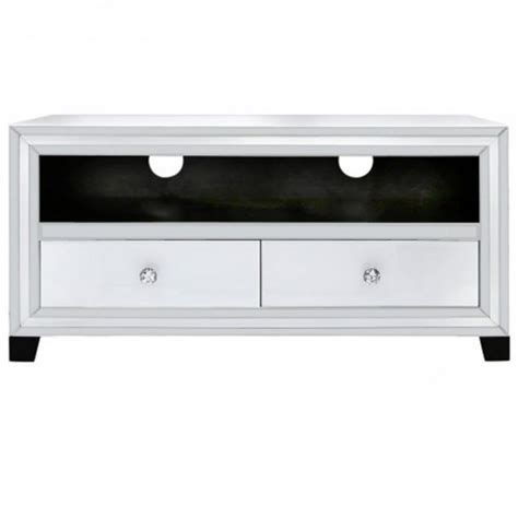 Mirrored Tv Cabinet by Savona Mirrored Tv Cabinet Venetian Glass Furniture