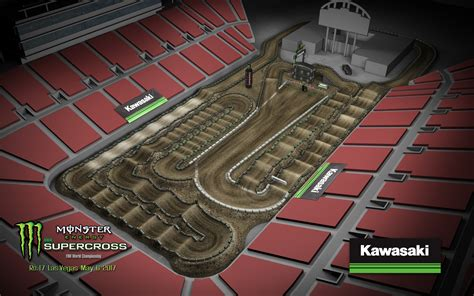 motocross race track 2017 track maps supercross live