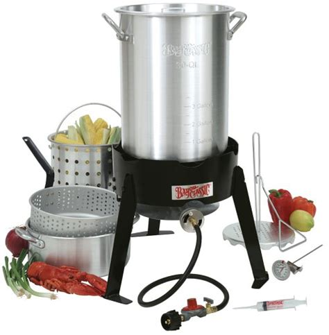 reviews bayou classic 3016 30 quart outdoor turkey fryer