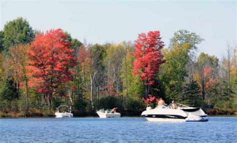 inland waterway boat rentals top 10 fall activities in northern michigan holiday