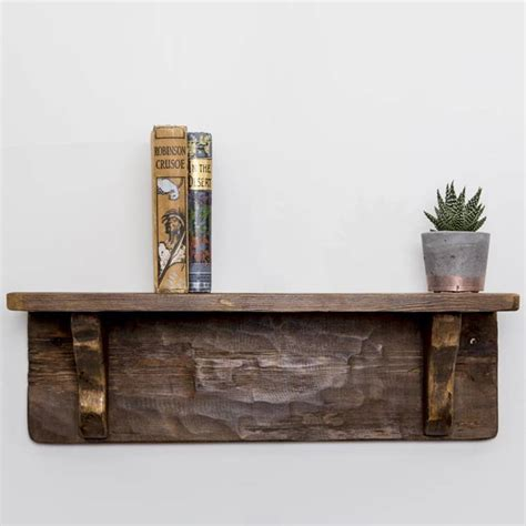 Handmade Wood Shelves - handmade reclaimed wood shelf by and craft