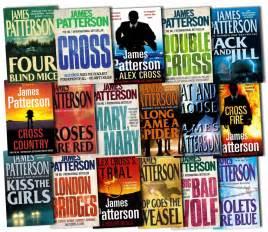 Alex Cross Novels alex cross series collection patterson 17 books set