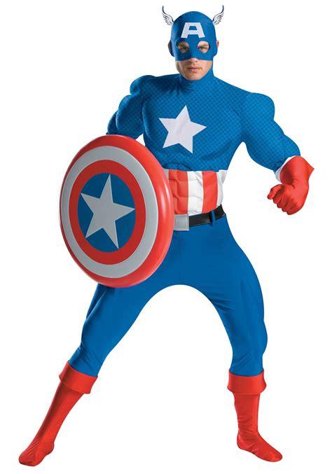 Costum Captain America authentic captain america costume costumes