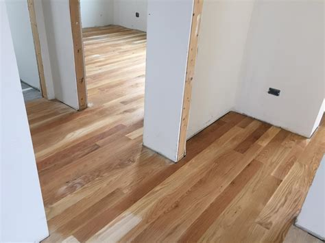 "Solid White Oak 3 1/4"" Hardwood Floor Installation Chicago"
