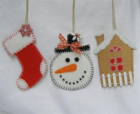 free felt christmas ornament patterns custom crops