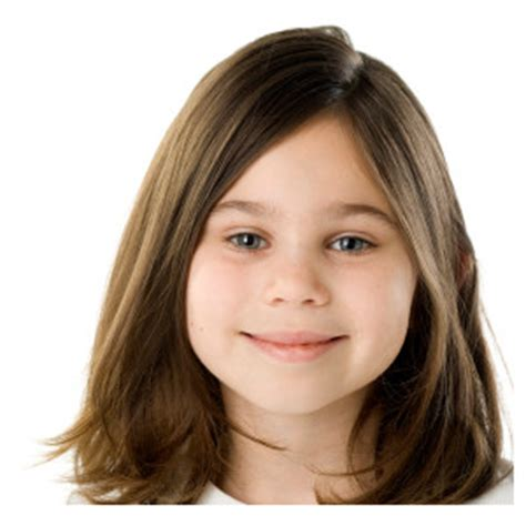 shoulder length bob cuts for kids girls hair medium length with soft layers kids hairstyles