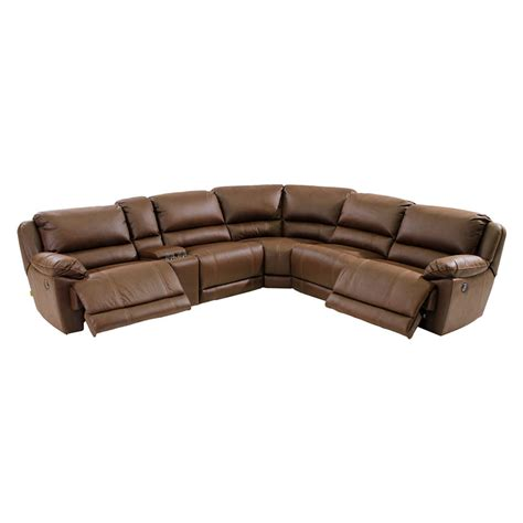 augusto chocolate power motion sofa w right left
