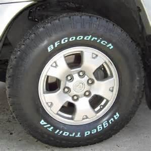 Trail Ta Tires Bf Goodrich Rugged Trail T A Radial Tires Road