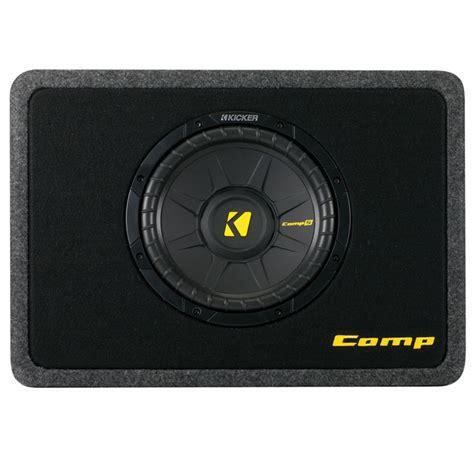 Kickers Limited 4 kicker tcws10 car audio loaded comp s regular cab truck 10 quot sub box 600 watt enclosure 4 ohm
