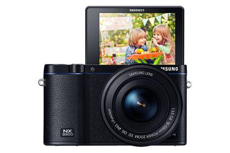 Kamera Mirrorless Samsung Nx3300 samsung nx3300 sort systemkamera kamera foto euronics