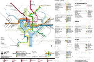 Dc Metro Map Pdf by Maps Update 700495 Washington Dc Map Tourist