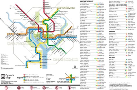 washington dc railroad map union station underground map