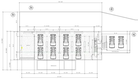 parking garage floor plan hillside project renderings ashelford consulting