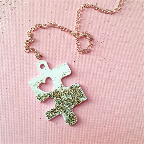 Creative Puzzle Piece Necklace Designs Guide Patterns