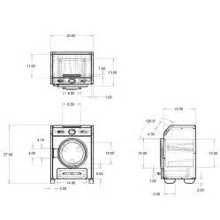 full size stackable washer and dryer