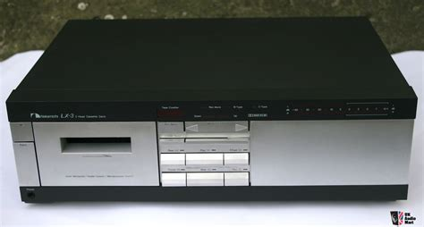 nakamichi lx 3 cassette deck nakamichi lx 3 cassette deck fully restored and upgraded