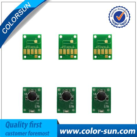 Chip Pisah Autoreset Canon Mg5170 1 Set 6 colors pgi 850 cli 851 ヾ ノ auto auto reset arc chips for for canon pixma ip7280 mg5480