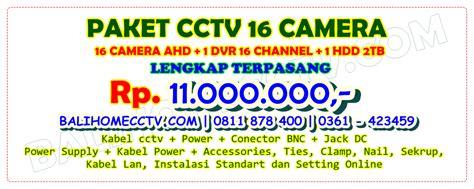 Paket Cctv 16 Channel 16 Kamera Cctv Xvi 3mp 1000gb paket cctv 16 paket cctv 16 channel jual paket